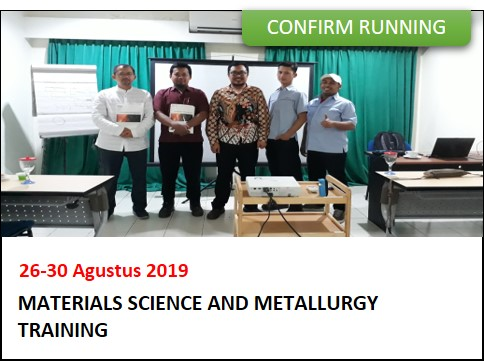 confirm running_training_material science and metallurgy_pt titian media cendekia_bandung