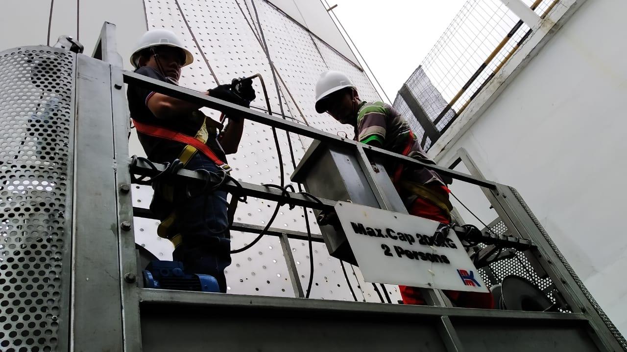Pelatihan K3 Operator Gondola Publik. Jakarta, 18-20 Juli 2019
