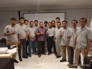 Pelatihan Petugas K3 Teknisi Listrik Publik, Jakarta 22-27 Juli 2019.