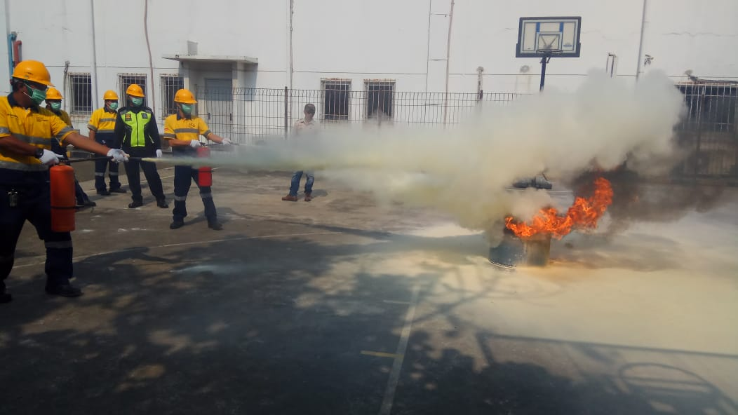 Pelatihan Petugas Kebakaran Kelas D (Fire D). Cibitung, 24-26 Juli 2019