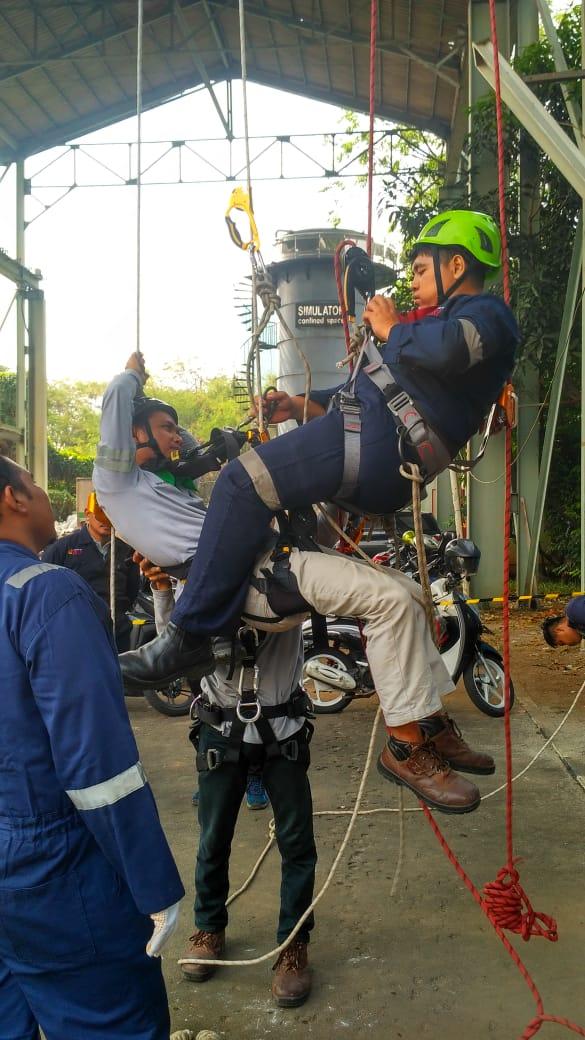 Pelatihan  K3 Tenaga Kerja Pada Ketinggian (TKPK) Tingkat 1 Publik. Jakarta, 22-25 Juli 2019