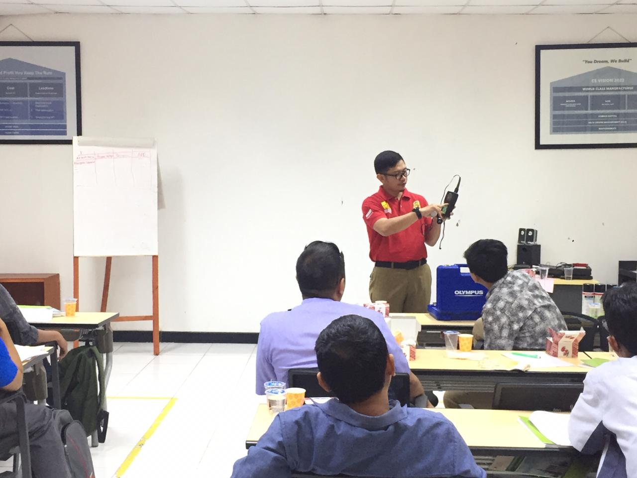 Pelatihan K3 Teknisi Bejana Tekan dan Tangki Timbun. Karawang, 22-31 Juli 2019