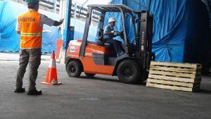 Pelatihan Operator Forklift PT. Pindo Deli Pulp And Paper Mills 04 s.d 06 September 2017