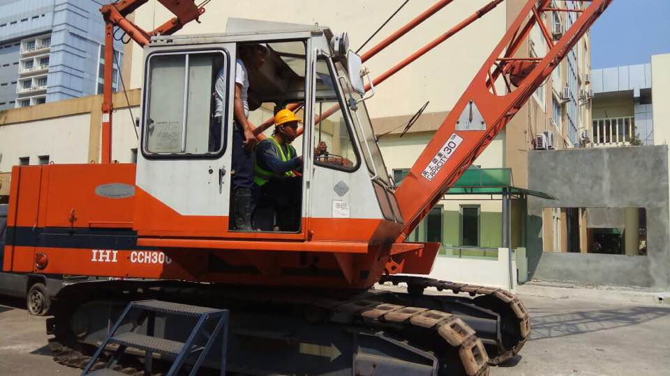 Pelatihan Operator Crane Publik 05 s.d 08 September 2017