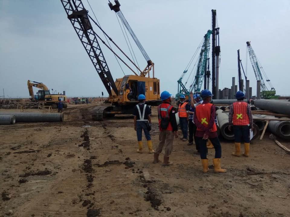 Pelatihan Ahli K3 Muda Konstruksi Inhouse PLTU Tanjung Jati B, 09 s.d 10, 23 s.d 34 & 30 September 2017