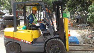 Pelatihan Operator forklift Reguler – Bekasi, 18 s.d 20 September 2017