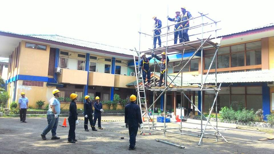 Pelatihan K3 Teknisi Perancah Publik, 16 s.d 20 Oktober 2017