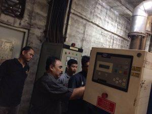 Pelatihan Petugas K3 Diesel Inhouse PT Wahyu Jaya Perkasa, 19 s.d 22 Oktober 2017