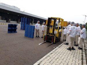 Pelatihan K3 Operator Forklift PT. Nestle Indonesia Inhouse, 20 s.d 22 November 2017