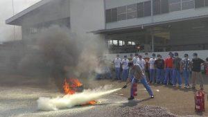 Pelatihan Petugas Kebakaran Kelas D Inhouse PT. Isuzu Astra Motor Indonesia, 19 s.d 20 Oktober 2017