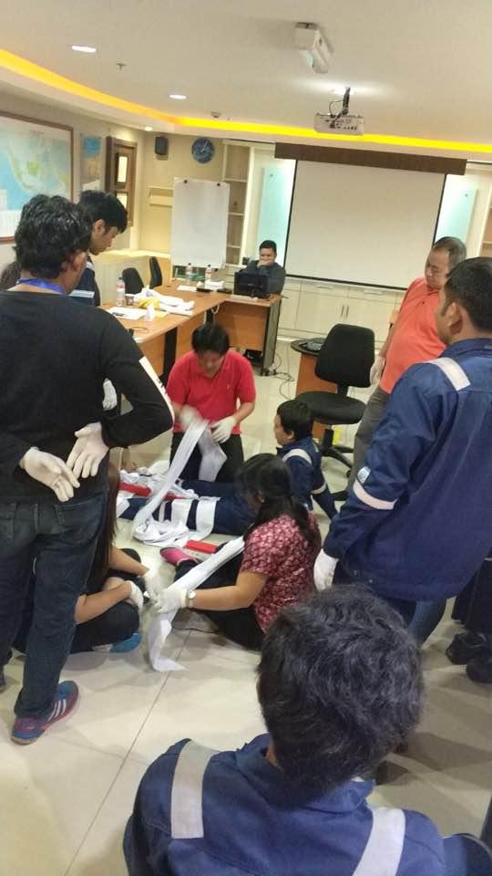 Pelatihan P3K PT Indonesia Power UPJP Tanjung Priok Inhouse, 16-17 Oktober 2017