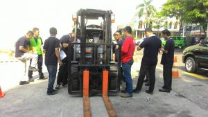 Pelatihan K3 Operator Forklift Publik, 21 s.d 23 November 2017