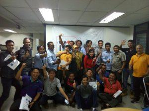 Pelatihan Petugas P3K Inhouse PT VSL Indonesia, 11 s.d 13 April 2018