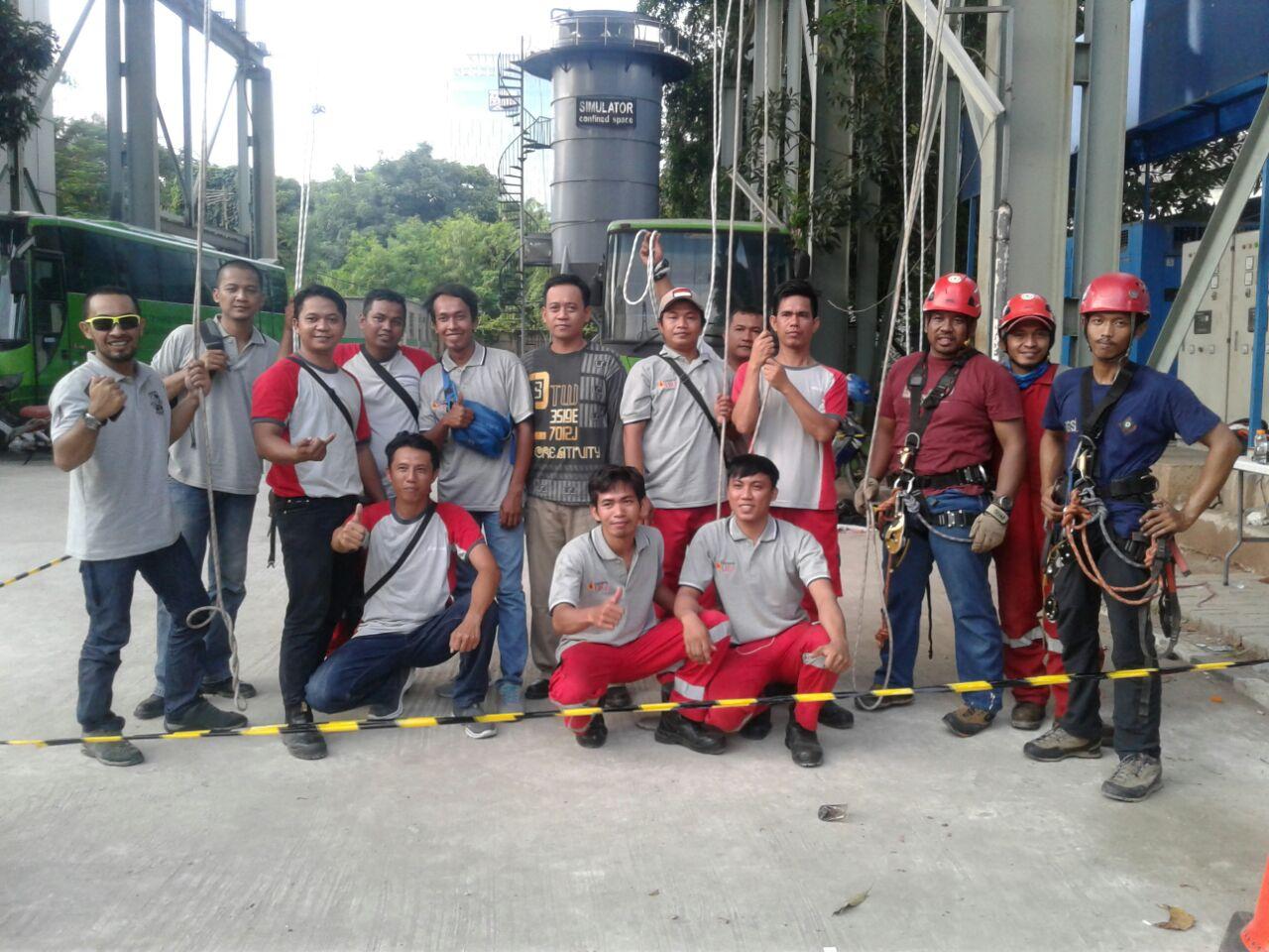 Pelatihan  K3 Tenaga Kerja Pada Ketinggian Tingkat 1 Publik, 11 s.d 13 April 2018