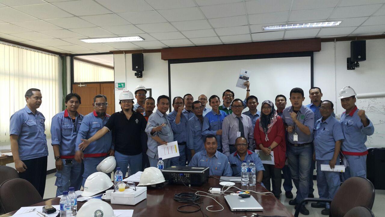 Pelatihan Behaviour Basic Safety Inhouse PT Siemens Indonesia, 07 s.d 08 Mei 2018