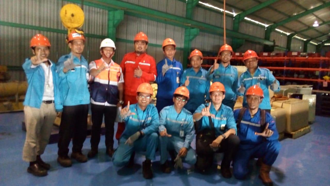 Pelatihan Juru Ikat (Rigger) Inhouse PT Indonesia Power, 22 s.d 24 Mei 2018
