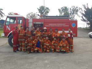 Pelatihan Petugas Kebakaran Kelas D (Fire D) Inhouse PT Krakatau Posco, 07 s.d 08 Mei 2018