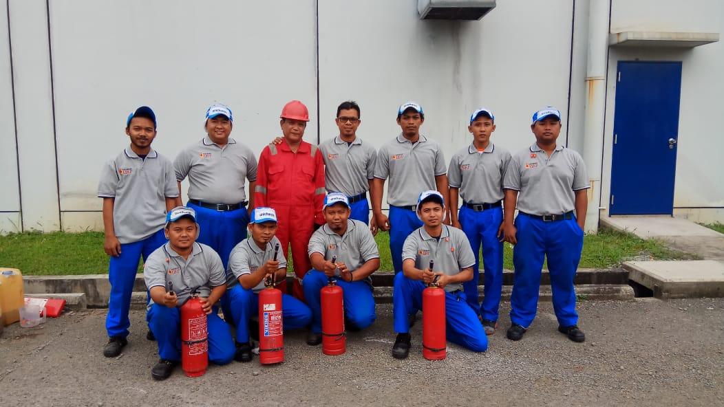 Pelatihan Petugas Kebakaran Kelas D (Fire D) Inhouse PT Unicharm, 22 s.d 23 Mei 2018