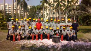 Pelatihan Petugas Kebakaran Kelas D (Fire D) Inhouse PT Frisian Flag Indonesia, 25 s.d 27 Juni 2018