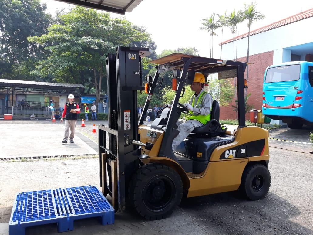 Pelatihan K3 Operator Forklift Publik, 26 s.d 28 Juni 2018