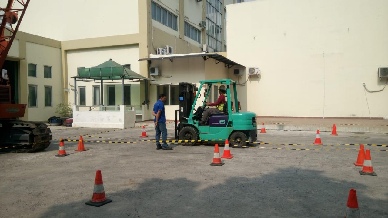Pelatihan K3 Operator Forklift Publik, 30 Oktober s.d 01 November 2018 Jakarta
