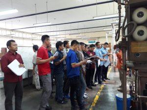 Pelatihan K3 Operator Boiler Kelas I dan Kelas II Publik, 05 s.d 10 November 2018