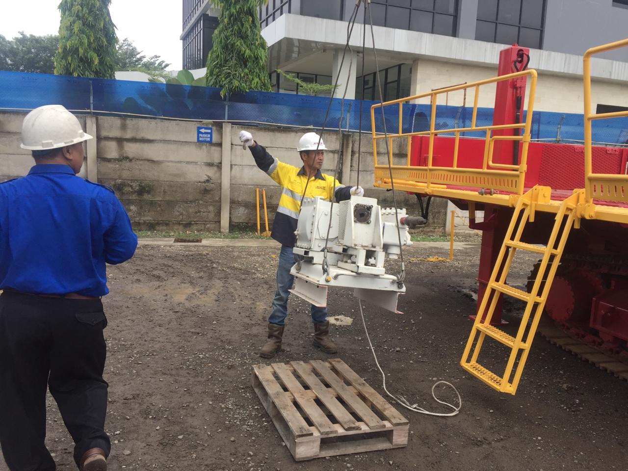 Pelatihan K3 Operator Crane Inhouse PT Pontil Indonesia, 28 s.d 30 November 2018