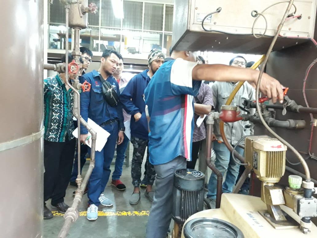 Pelatihan K3 Operator Boiler Kelas I & 2 Publik, 03 s.d 08 Desember 2018