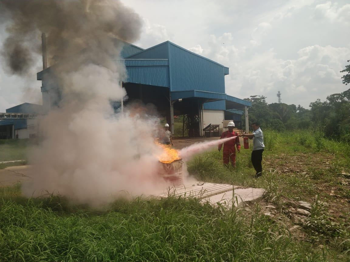 Pelatihan Petugas Kebakaran Kelas D (Fire D) Inhouse PT Argha Karya Prima Industry, 05 s.d 06 Desember 2018