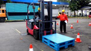 Pelatihan K3 Operator Forklift Inhouse PT Essence Indonesia, 14, 21 dan 26 Januari 2019