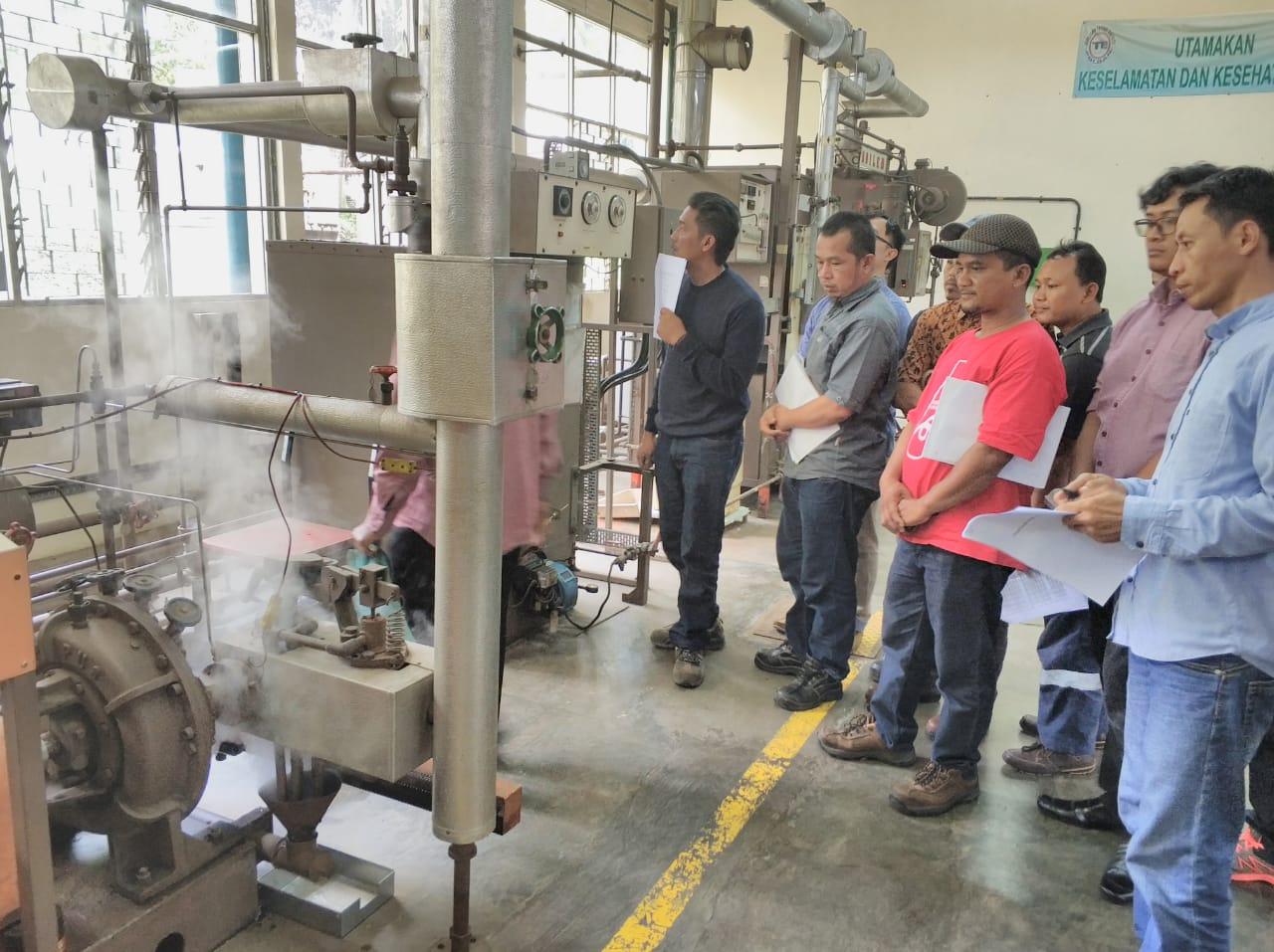 Pelatihan K3 Operator Boiler Kelas I & 2 Publik, 11 s.d 16 Februari 2019