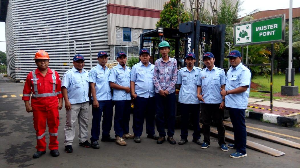 Pelatihan K3 Operator Forklift Inhouse PT CG Power System, 04 s.d 06 Maret 2019