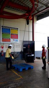 Pelatihan K3 Operator Crane Inhouse PT HM Sampoerna, 11 s.d 13 Maret 2019