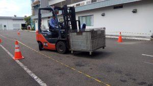 Pelatihan K3 Operator Forklift Inhouse PT Yamaha Motor, 20 s.d 22 Maret 2019