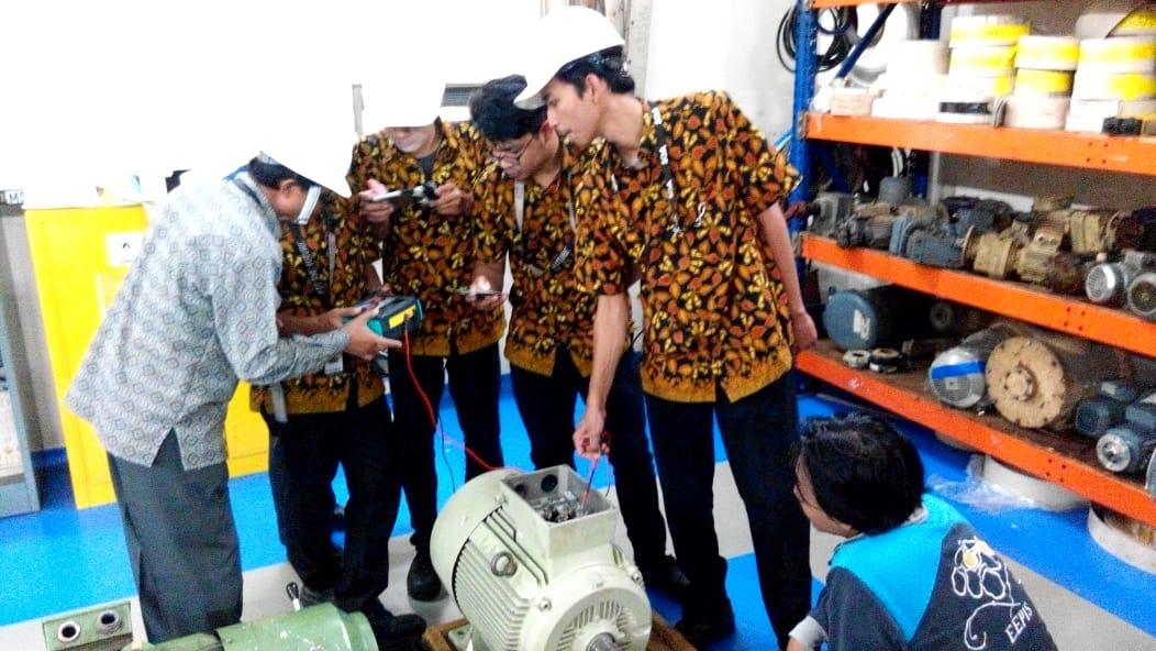 Pelatihan Petugas K3 Teknisi Listrik Inhouse PT HM Sampoerna, 18 s.d 23 Maret 2019.