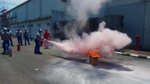 Pelatihan Petugas Kebakaran Kelas D (Fire D) Inhouse PT Unicharm Indonesia, 25 s.d 27 Maret 2019