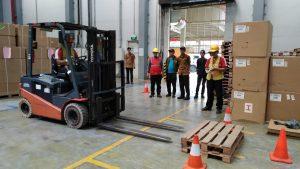 Pelatihan K3 Operator Forklift, Karawang April 2019